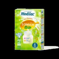 Modilac Céréales Farine 5 Céréales bio à partir de 6 mois B/230g à CHÂLONS-EN-CHAMPAGNE