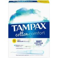 Tampax Pearl Cotton - Confort Régulier à CHÂLONS-EN-CHAMPAGNE