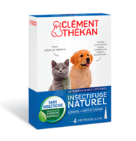 Clément Thékan Spot-on Solution externe chiot/chaton 4 Pipettes/1ml