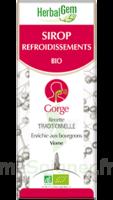 Herbalgem Sirop bio refroidissement 150ml à CHÂLONS-EN-CHAMPAGNE