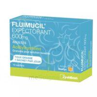 FLUIMUCIL EXPECTORANT ACETYLCYSTEINE 600 mg Glé s buv adultes 10Sach à CHÂLONS-EN-CHAMPAGNE