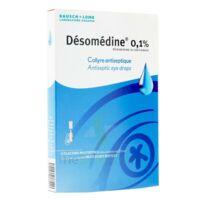 DESOMEDINE 0,1 % Collyre sol 10Fl/0,6ml à CHÂLONS-EN-CHAMPAGNE