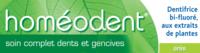 Boiron Homéodent Soin Complet Dents et Gencives Pâte Dentifrice Anis 2T/75ml à CHÂLONS-EN-CHAMPAGNE