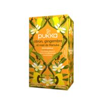 Pukka Bio Citron, Gingembre Et Miel De Manuka Tisane Immunité Citron Gingembre Miel De Manuka 20 Sachets à CHÂLONS-EN-CHAMPAGNE