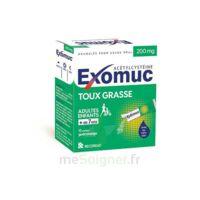 Exomuc 200 Mg, Granulés Pour Usage Oral En Sachet 15 Sachets/2g à CHÂLONS-EN-CHAMPAGNE