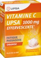 Vitamine C Upsa Effervescente 1000 Mg, Comprimé Effervescent à CHÂLONS-EN-CHAMPAGNE
