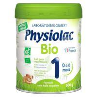 Physiolac Bio 1 Lait En Poudre B/800g à CHÂLONS-EN-CHAMPAGNE